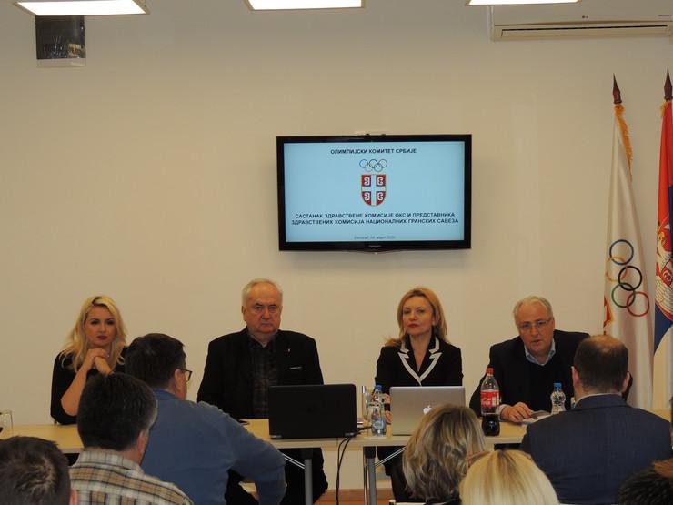 Sastanak zdravstvene komisije Olimpijskog komiteta Srbije