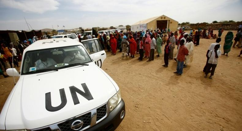 UNHCR has said since war erupted in 2013 nearly 330,000 South Sudanese refugees, pictured in January 2017, have arrived in Sudan fleeing war and food insecurity in their country