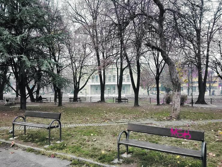Park kod Centra za kulturu