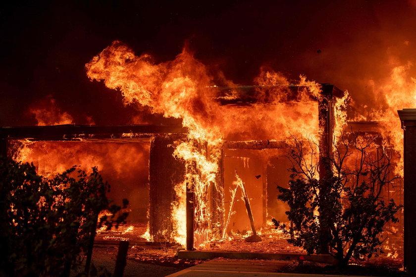 Stan wyjątkowy z powodu pożarów w Kalifornii