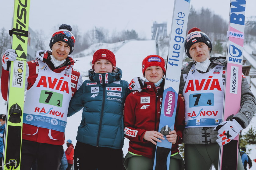 ROU, FIS Weltcup Ski Sprung, Rasnov