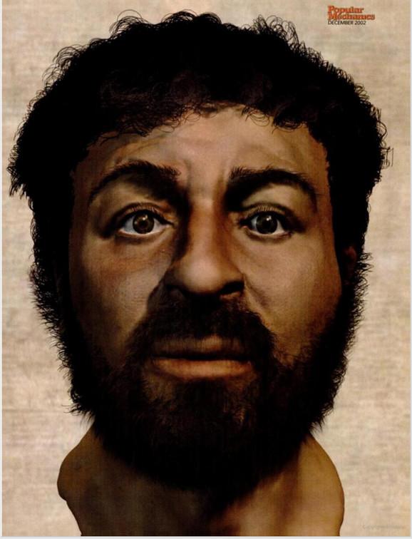 Model muškarca iz Galileje: Da li je Isus Hrist ovako izgledao?
