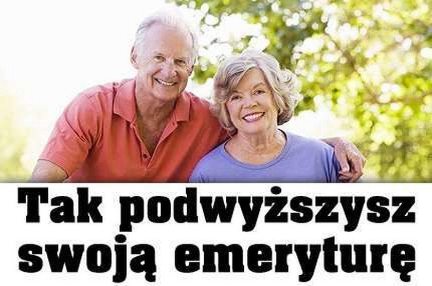 Tak podwyższysz swoją emeryturę
