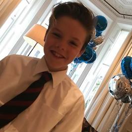 Cruz Beckham kończy 12 lat. Ależ się zmienił!