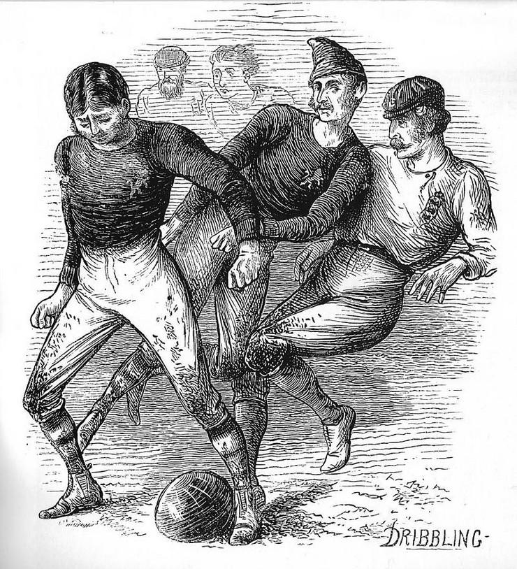 Prva međunarodna utakmica