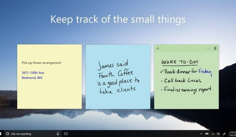 Sticky Notes z Windows 10 dostają dużą aktualizację