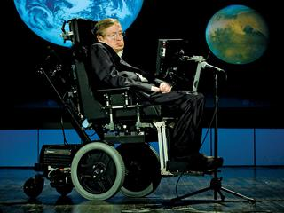 Hawking Offers Case For Space Travel On NASA Anniversary