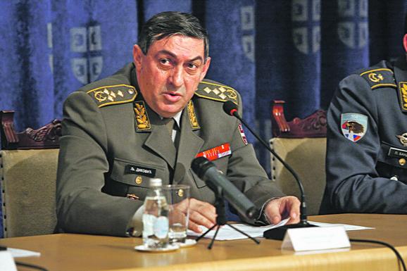 Ljubiša Diković, načelnik Generalštaba VS