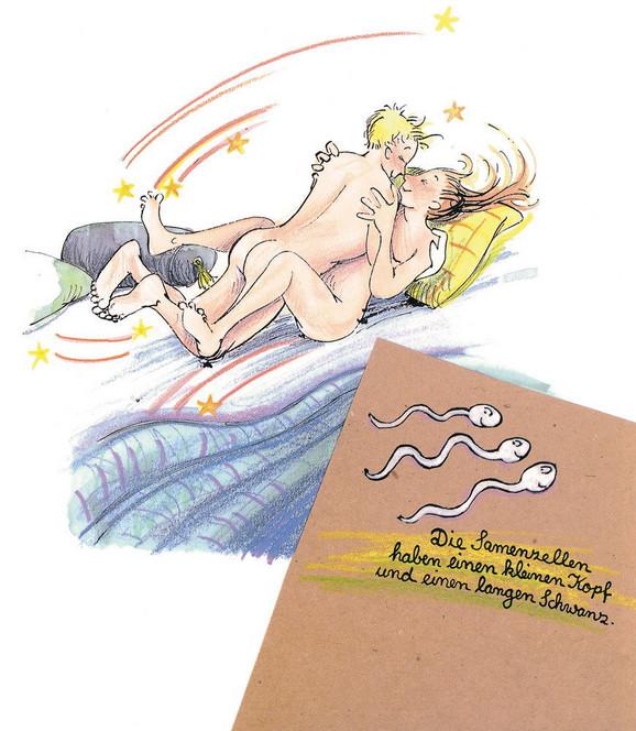 Jedan od crteža iz knjige