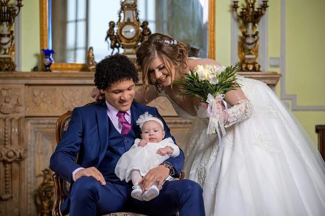 Eduard Cepeda sa suprugom Anom i ćerkicom Lunom