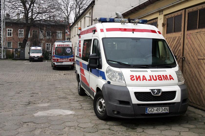 Brutalny atak na ratowników medycznych w Gdańsku!