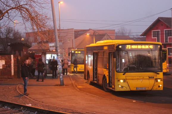 Nema velikih gužvi u autobusima