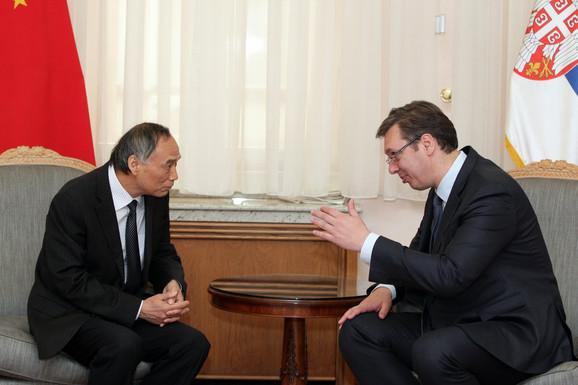 Li Mančang i Aleksandar Vučić