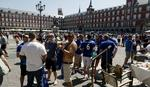 DIVLJANJE U MADRIDU Policija uhapsila osam navijača Lestera
