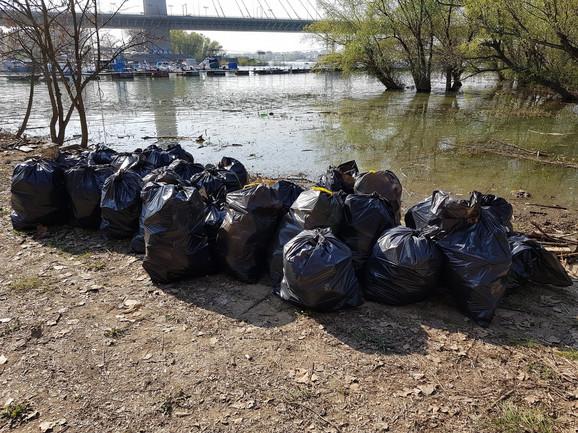 U akciji povodom Svetskog dana čišćenja biće sređen deo na Adi Huji