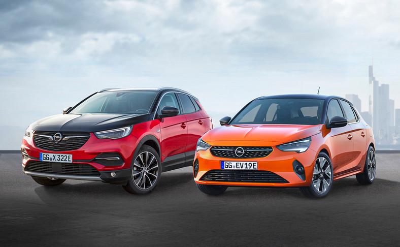 Opel Grandland X Hybrid4 i elektryczna Corsa-e