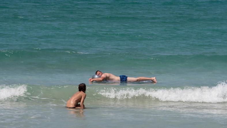 Niemieccy turyści na Majorce