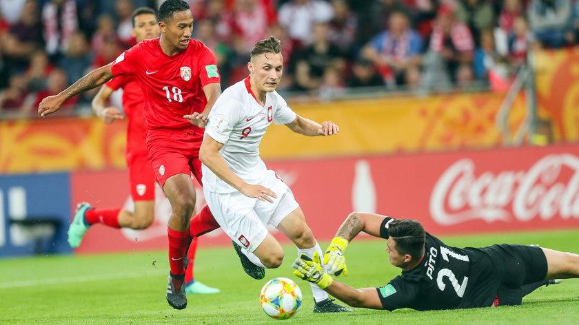 Reprezentacja Polski wygrała z Tahiti 5:0