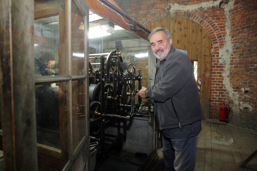Andrzej Kaszyński jest zegarmistrzem od 1984 roku