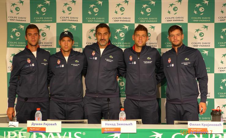 Dejvis kup tim Srbije