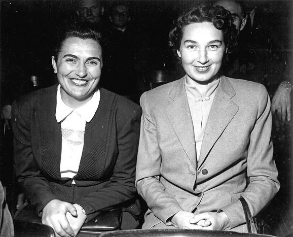 Jovanka Broz i Ladislava - Slavka Ranković