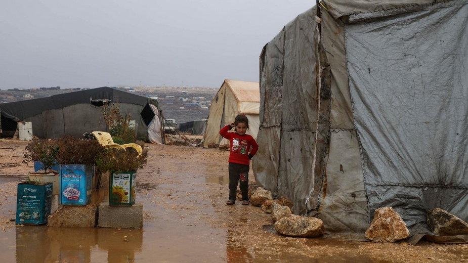 Obozy w północno-zachodniej Syrii