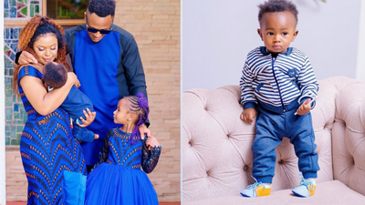 """Size 8 & DJ Mo over the moon as their """"Miracle Baby"""" turns 1-year-old"""