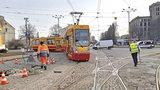 Tramwaje w Łodzi jadą inaczej. Przez remont torów...