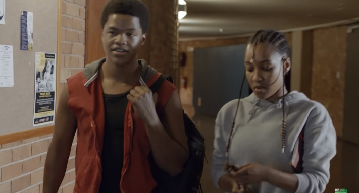 Q and Dineo in MTV Shuga Down South episode 2 [YouTube/MTVShugaDownSouth]