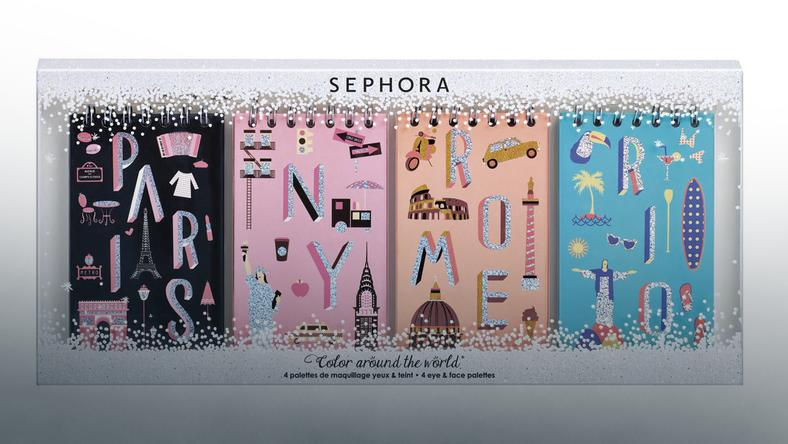 Sephora Color around the world - zestaw do makijażu