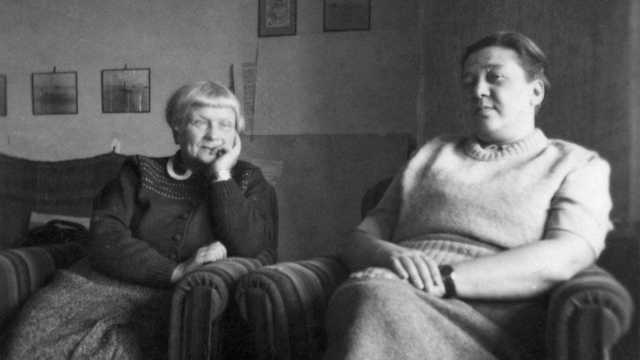 Maria Dąbrowska i Anna Kowalska