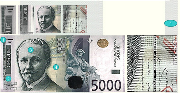 Zaštitna nit na novčanici