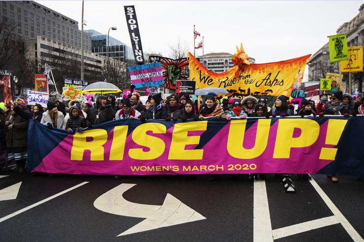 Ženski marš Donald Tramp