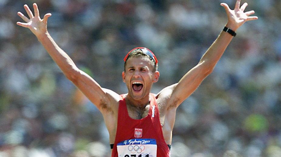 Robert Korzeniowski na igrzyskach olimpijskich w Sydney