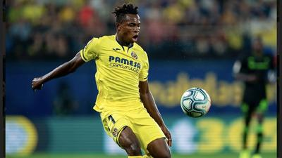 Samuel Chukwueze's teammate Santi Cazorla says he receives calls from Arsenal about the Nigerian forward