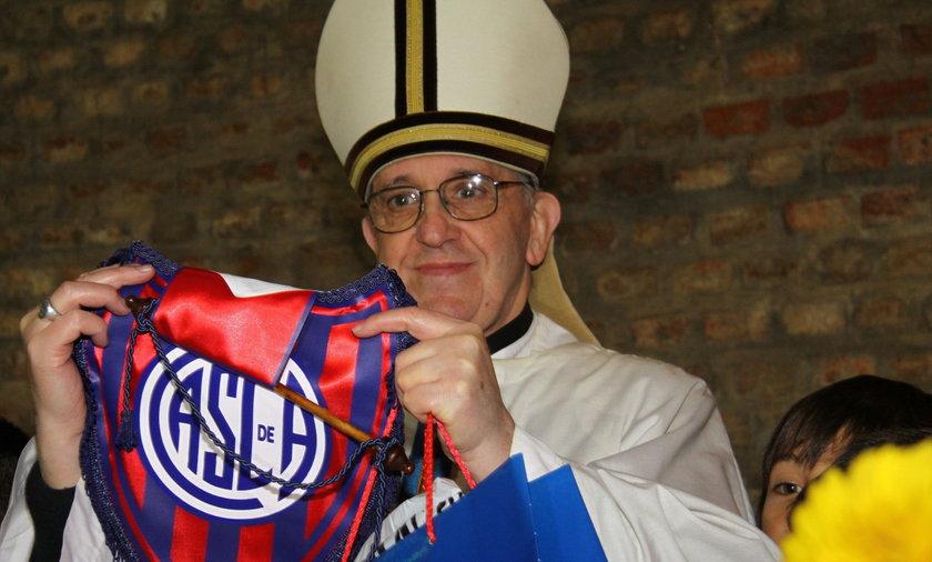 papież franciszek piłka nożna futbol