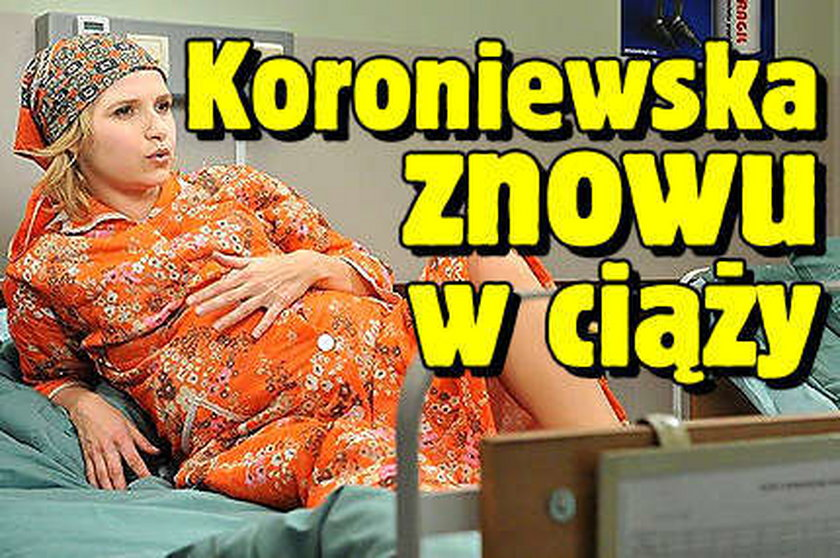Koroniewska znowu w ciąży