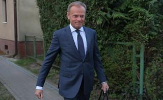 Kontynuacja przesłuchania D. Tuska już za zamkniętymi drzwiami