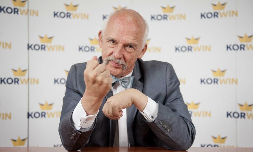 Korwin Mikke o byłym prezydencie: bredzi bez ładu i składu
