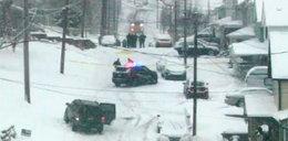 Zabił sąsiadów, bo wrzucali mu śnieg na posesję