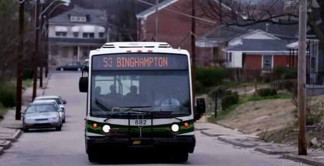 Autobus u Binghemptonu