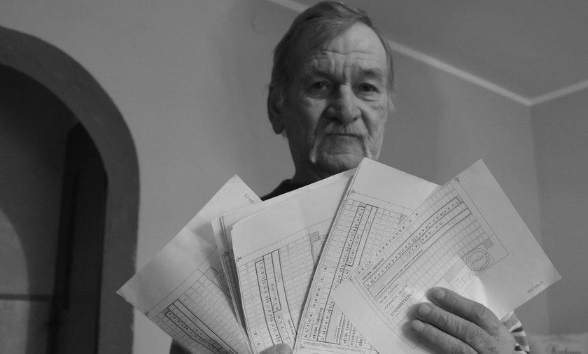 Zarzuty w sprawie Compass Money. Tadeusz Skiba nie doczekał sprawiedliwości