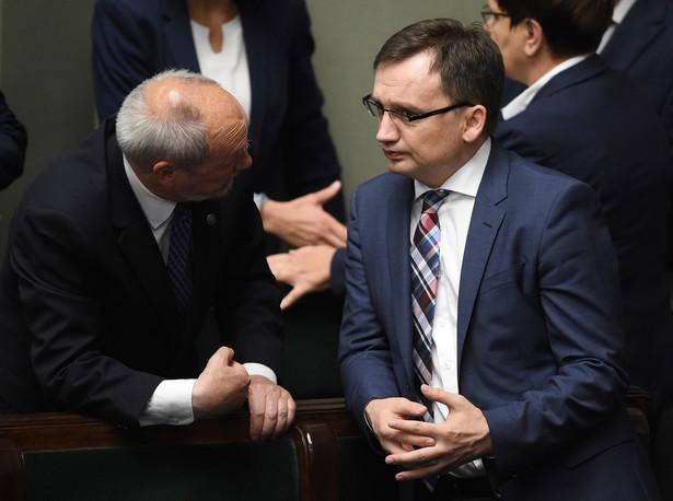Minister sprawiedliwości Zbigniew Ziobro, PAP/Radek Pietruszka