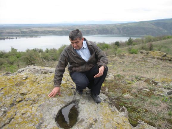 Ovo je za sada jedini pronađeni objekat te vrste u Srbiji