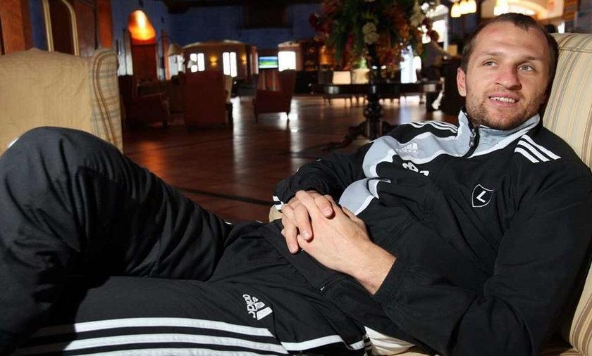 Bramkarz Legii nie przygotowuje się z drużyną do meczu z Wisłą