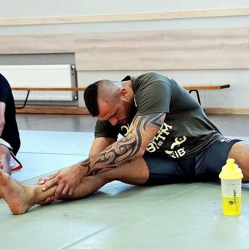 Polski zawodnik MMA miał groźnie wyglądający wypadek