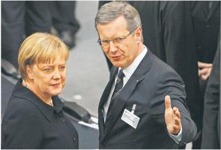Merkel przepchnęła swojego prezydenta