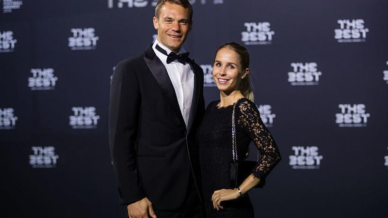Manuel Neuer i Nina Weiss