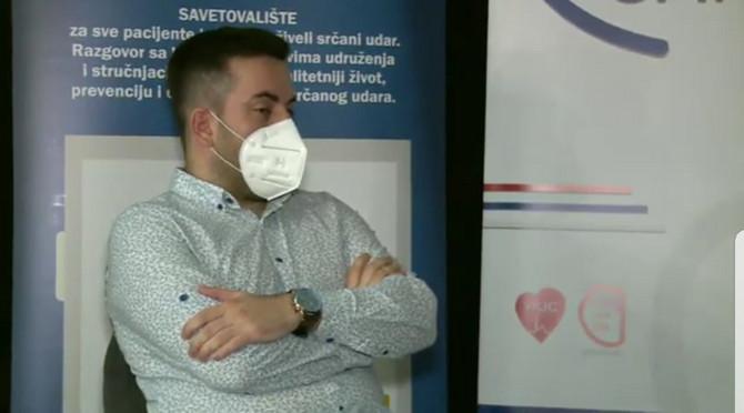 Učesnik savetovališta ovog puta bio je dr Višeslav Popadić, specijalizant interne medicine u Kliničko-bolničkom centru Bežanijska kosa