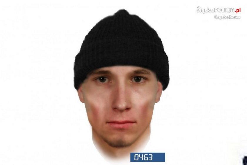 Ataki na kobiety w Częstochowie. Policja publikuje portrety podejrzanych